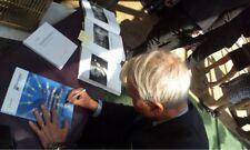 A. Michael Spence prix Nobel Signed Signée Autograph signature autographe