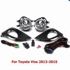 TOYOTA VIOS  2013-2015 FOG LAMP KIT SET COME WITH SWITCH RELAY WIRING HARNESS