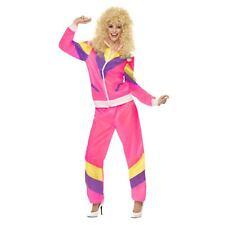 1980s Shell Suit Ladies 80s Disco Fancy Dress Costume Scouser Retro Outfit 8/10