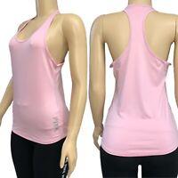 Victorias Secret PINK Ultimate Sport Logo Racerback Tank Top Tee Light Pink S