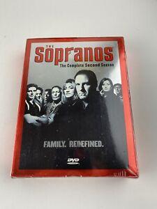 The Sopranos Season 2 The Complete Second Season (DVD, 2001, 4-Disc Set) NEW