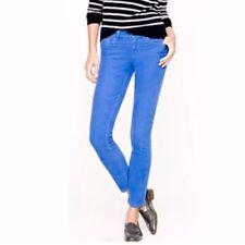 J Crew 24 Cobalt Blue Garment Dyed Toothpick Ankle Skinny Jeans