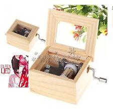 Wood Hand Crank Music Box : Elfen Lied - Lilium