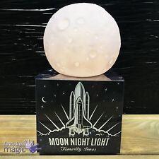Temerity Jones Desktop Luna Light Up Moon Space Nightlight Kids Bedroom Gift