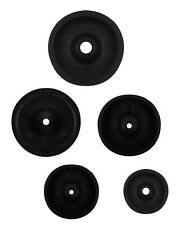 """2""""-4"""" 50-100 mm C Rubber Sprue Base Jewelry Lost Wax Casting Flask Ring Tree Lot"""