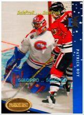 PARKHURST 1993 PATRICK ROY NHL MONTREAL CANADIENS GOALIE MINT RARE EAST/WEST #E4