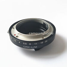 Contarex CRX Lens To Leica M LM M4 M5 M6 M7 M8 M9 MP Techart LM-EA7 Adapter