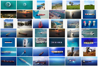 STOCK Photo AERIAL Royalty free: ships, containers, ports, bulks, cruise, power