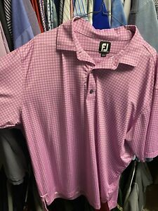 Footjoy XXL Pink Pattern