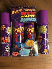 Spiderman Web Blaster Ammo Refill Pack 1997