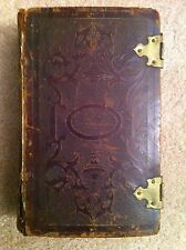 TAGLICHES HAND-BUCH, Daily Handbook, Prayer, German 1857 JOHANN FRIEDRICH STARK