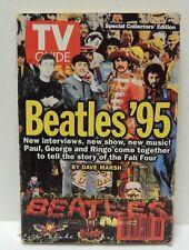 BEATLES '95 TV GUIDE NOVEMBER 18-24 1995 Collectors Edition