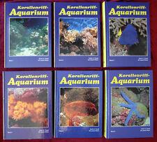 Fossa / Nilsen: Korallenriff-Aquarium, 6 Bände, komplett