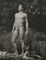 1990 Vintage BRUCE WEBER Outdoor Male Nude Body CLAES Adirondack Photo Art 11X14