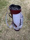 Vintage Wilson Staff Golf Cart Bag  15 Way Divider