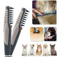 Electric Pet Grooming Comb Hair Trimmer Groomer Knot Out Remove Pet Hair Scissor