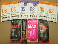 Pruvit Keto OS Ultimate Variety Sample Orange, Choc, Maui, Rasp Lem, Cacao 10 Pk