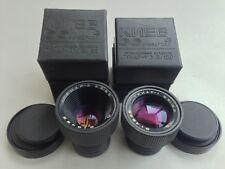 set TAIR-3 2.8/85mm TAIR-1 3.5/150mm projection lens Kiev 66  USSR