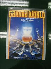 Gamma World Beta Principle Sci-Fi RPG TSR 7510
