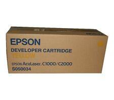 TONER JAUNE  EPSON  D'ORIGINE C1000- C2000 C13S050034