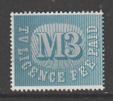 Uk revenue Fiscal stamp 10-26-20 no gum- used