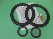 """ACOUSTIC RESEARCH AR58b  11"""" &  4"""" SPEAKER REPAIR KIT 58bx, 58bxi - MADE IN USA"""