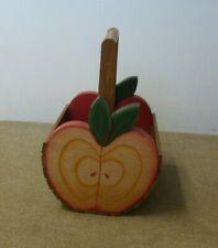 Wooden apple basket Vintage storage/ decoration