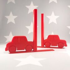 Car Bookends - 3D Printed - Nursery Decor - Children's Bedroom - Gifts boys