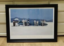 Bluebird at Bonneville by Jack Vettriano Large Deluxe Framed Art Print 78x58cm