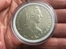 MARIA THERESA  1780 SILVER THALER RESTRIKE BRILLIANT UNCIRCULATED..3 AVAILABLE
