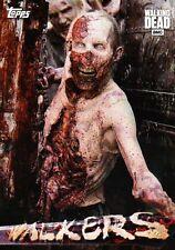 The Walking Dead Season 6 - Walkers Insert Chase Trading Card Set