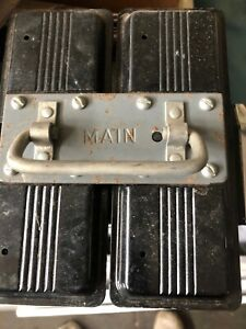 Federal Pacific Main 100 Amp Fuse Pullout