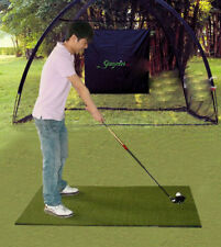 Black 3M Indoor Outdoor Golf Practice Encryption Oxford Fabric Golf Strike Net