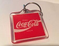 Coca-Cola Square Key Chain,