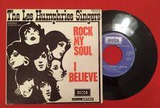 THE LES HUMPHRIES SINGERS ROCK MY SOUL I BELIEVE 333018 VG+ VINYLE 45T SP