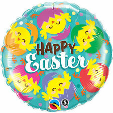 Easter Round Party Foil Balloons