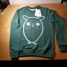 Knowledge Cotton Apparel Organic Green Sweatshirt Size Men L  New with tags