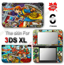 Dragon Quest VIII Journey of the Cursed King Skin Vinyl Sticker Cover for 3DS XL