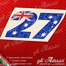 Adesivo Stickers STONER 27 2011 Replica