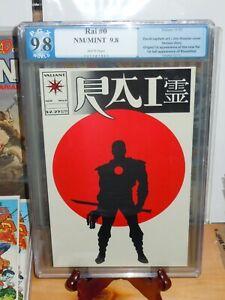 💎 Rai #0 Graded PGX 9.8 Valiant Comics 1st full Bloodshot & 1st app New Rai