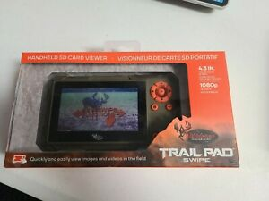 """Wildgame Innovations Trail Pad Swipe 4.3"""" SD Card Viewer for Game Cameras VU60"""
