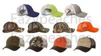 DRI DUCK Mesh Back Hats Realtree Max4, Camo, Buck, Mallard, Duck, Trucker Cap