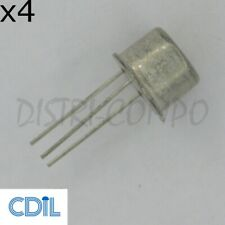 Lot de 4 2N3055 Transistor NPN TO-3 60V 15A 115W TO-3 CDIL RoHS