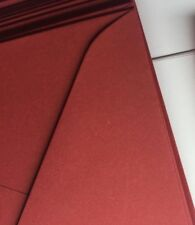 20 x BURGUNDY 150mm square Envelopes  Wedding Invitation Business Envelope
