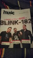 Blink 182 The Music Sydney Australian Magazine Issue 145 29/06/2016