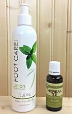 L`eudine Leudine Lot of 2 - Herbal 35 - Foot Care Lotion