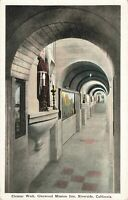 Postcard Cloister Walk Glenwood Mission Inn Riverside California