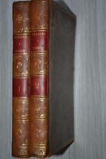 Lettres à Sophie par Louis-Aimé Martin. Nicolle 1810 / Tranches dorées / D20