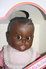 1979 Atlanta Novelty 17 Inch Gerber Black / African American Baby Eyes Move