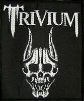 TRIVIUM PATCH AUFNÄHER # 4 SILENCE IS THE SNOW 10x8cm FLICKEN ABZEICHEN